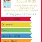 Get Ready for #BackToSchoolWeek – Back to School Crafts, Recipes & Giveaways
