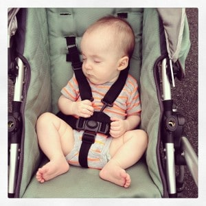 Smiles in Stroller - Cupcakes Kale Chips