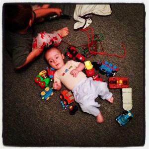 The Bug tortures Baby Brudder