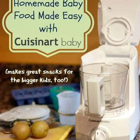 Mama Monday – Surgery, Solids & the @Cuisinart Baby Food Maker {#giveaway}