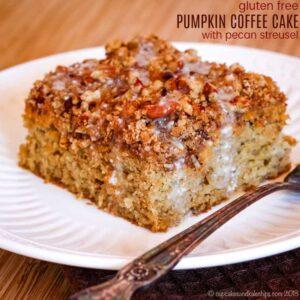 Gluten Free Pumpkin Coffee Cake Recipe