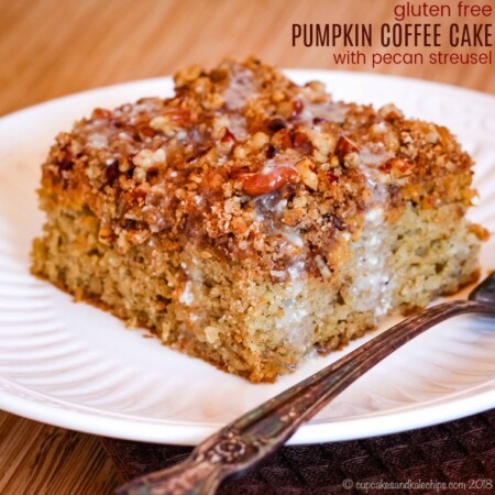 Gluten Free Pumpkin Coffee Cake Recipe