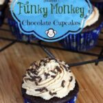 The Bug's Ultimate {Healthier} Funky Monkey Chocolate Cupcakes for #OXOGoodCupcake