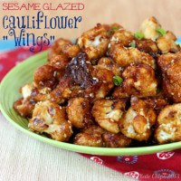 Sesame Glazed Cauliflower wings 3 title