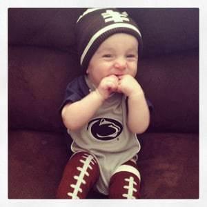 Smiles watching Penn State