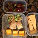 Avocado Rollups, Cheese, Grapes, Greek Yogurt Pumpkin Cheesecake