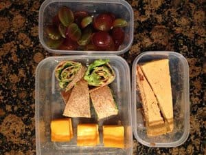 Avocado Rollups, Cheese, Grapes, Greek Yogurt Pumpkin Cheesecake