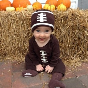 Baby Smiles Football