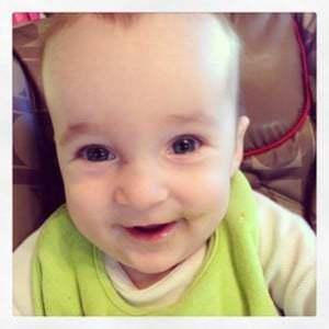 Baby Smiles Peas