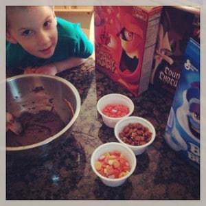 Bug and monster cereals