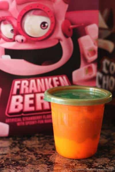 Franken Blueberry Monster Cereal Greek Yogurt Parfaits 5