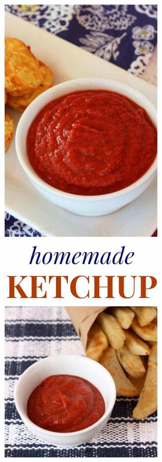 Homemade Ketchup {DIY Pantry Staples} - Cupcakes & Kale Chips