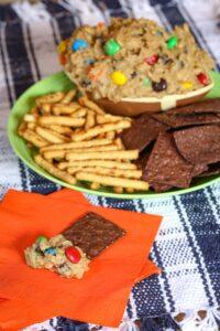 Flourless Monster Cookie Dough Dip