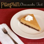 Pumpkin Greek Yogurt Cheesecake Tart 5 thumb