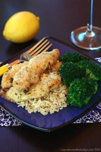 Mrs. A's Skillet Lemon Chicken | cupcakesandkalechips.com | #chicken #chickenrecipe #lemon #glutenfree