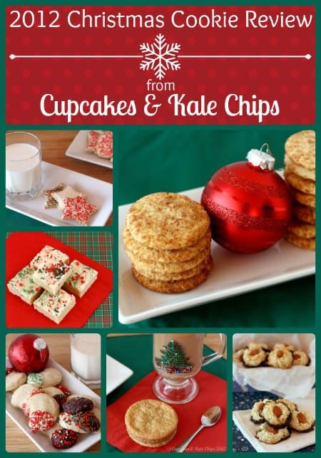2012 Christmas Cookie Review from Cupcakes & Kale Chips | cupcakesandkalechips.com | #christmascookies