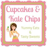 Cupcakes and Kale Chips square logo