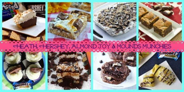 40 Recipes to Make From Leftover Candy - the best treats from my favorite bloggers | cupcakesandkalechips.com