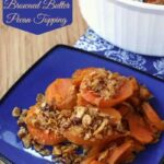 Maple Sweet Potatoes with Browned Butter Pecan Topping for #SundaySupper