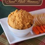 Maple Walnut Sweet Potato Hummus and a Vitamix #Giveaway