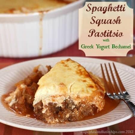 Spaghetti Squash Pastitsio