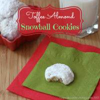 Toffee Almond Snowball Cookies 2 title