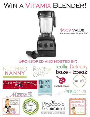 Vitamix Blender Giveaway!  Enter NOW!