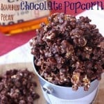 Bourbon Pecan Chocolate Popcorn for #SundaySupper