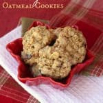 White Chocolate Cranberry Cashew Oatmeal Cookies for the #FBCookieSwap