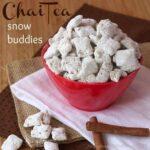 Chai Tea Snow Buddies | cupcakesandkalechips.com | Muddy Buddies | Puppy Chow | Gluten Free | No Bake Desserts