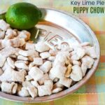 key lime pie puppy chow recipe (muddy buddies)