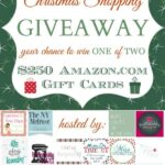 Last Minute Christmas Shopping Giveaway – Win One of Two $250 Amazon Gift Cards