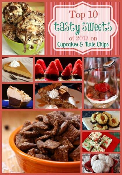 Top 10 Tasty Sweets of 2013 on Cupcakes & Kale Chips | cupcakesandkalechips.com | #dessert #desserts #icecream #pie #cookies