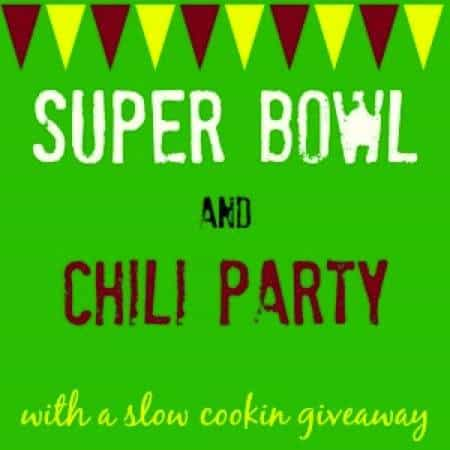 2014 Game Day Food & Chili Party and Slow Cooking Giveaway - share and find big game recipes and enter to win!