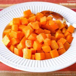 Basic Roasted Butternut Squash