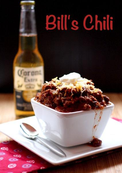 Bill s Chili with Caption
