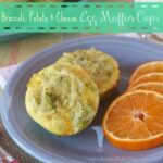 Broccoli, Potato & Cheese Egg Muffin Cups for #SundaySupper