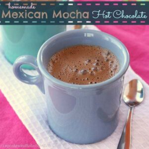Homemade Mexican Mocha Hot Chocolate | CupcakesAndKaleChips.com