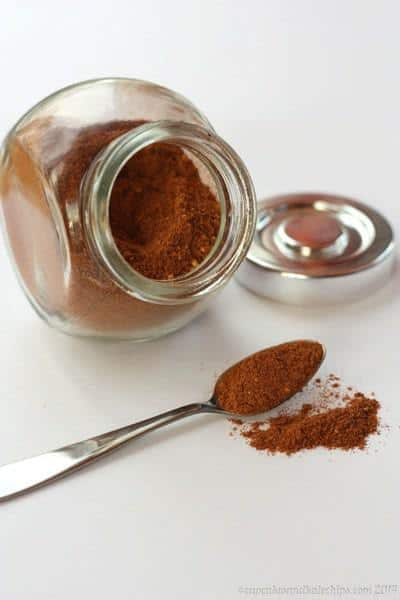 Mexican Chocolate Spice Mix | cupcakesandkalechips.com | #cinnamon #cayenne #ginger