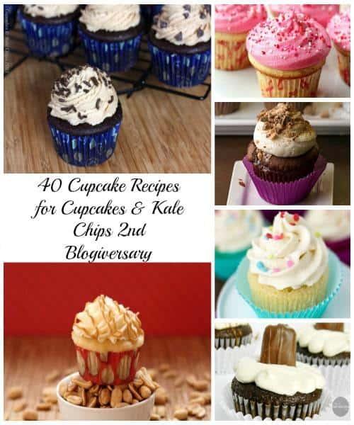 40 Cupcake Recipes | cupcakesandkalechips.com | #cupcakes #dessert