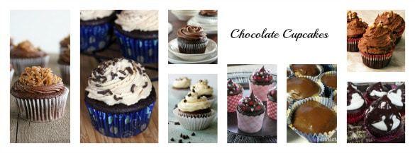 40 Cupcake Recipes (Chocolate Cupcakes) | cupcakesandkalechips.com | #cupcakes #dessert