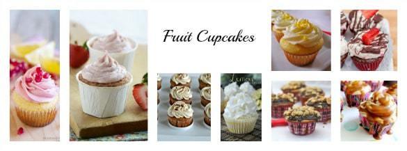 40 Cupcake Recipes (Fruit Cupcakes) | cupcakesandkalechips.com | #cupcakes #dessert