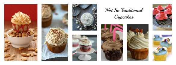 40 Cupcake Recipes (Not So Traditional Cupcakes) | cupcakesandkalechips.com | #cupcakes #dessert