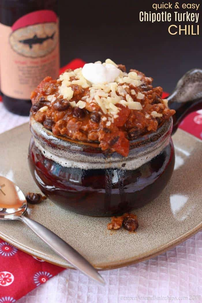 Quick and Easy Chipotle Turkey Chili Recipe