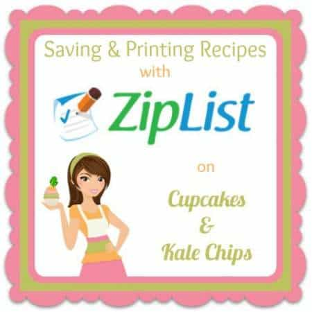 Ziplist Cupcakes Kale Chips Button