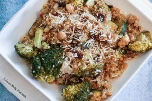 Vegetable Parmesan Slow Cooker Quinoa