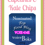 voiceBoks Top Food Blogs Nominee