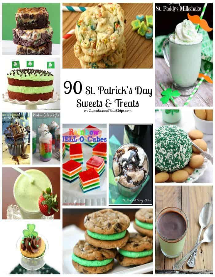 90 St. Patrick's Day Sweets & Treats | cupcakesandkalechips.com | #stpatricksday #dessert