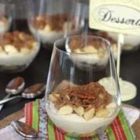 Bananas Foster Cheesecake Parfaits