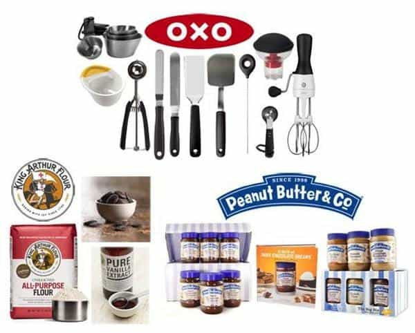 Chocolate Peanut Butter Day Giveaway Prizes